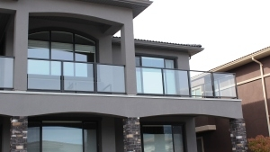 Glass railing 300x169 Kelowna OK Deck Doctor